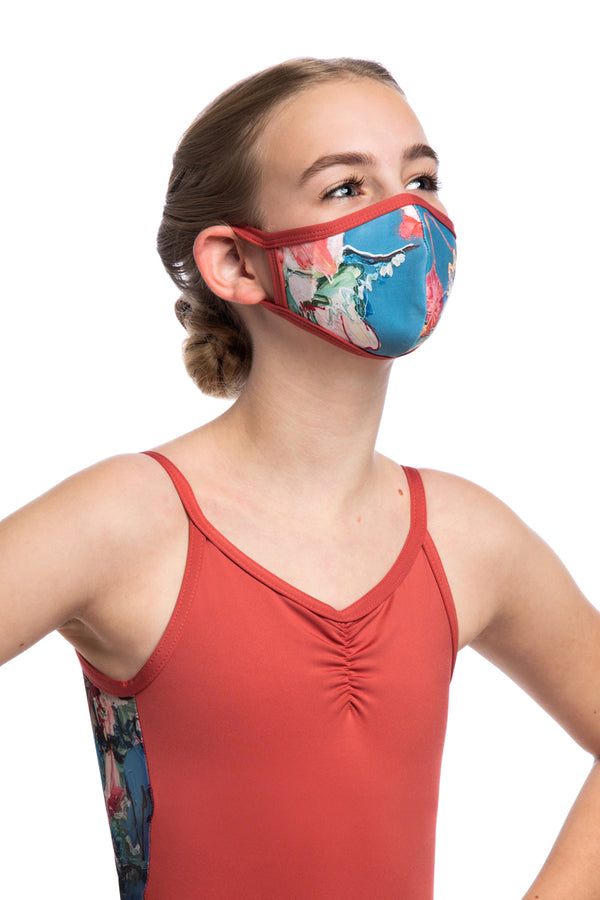 Girls Face Mask in Las Vidas Print (999LV G)