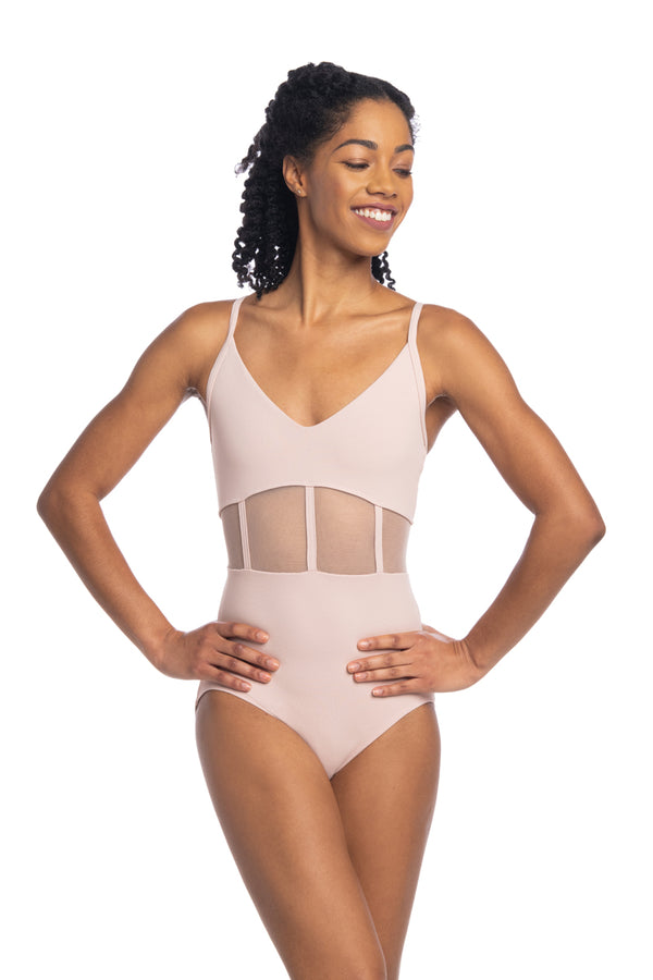 Desiree Leotard with Mesh
