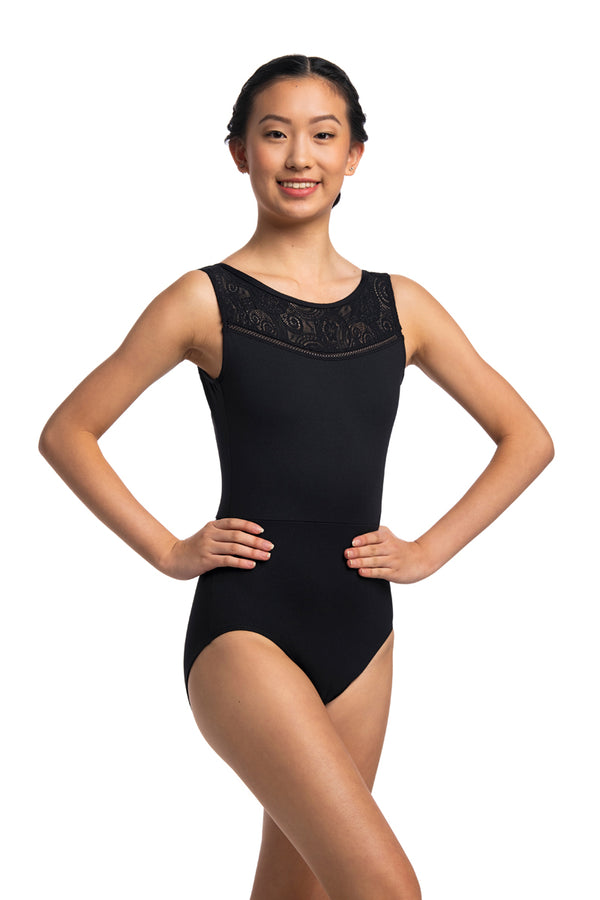 Kimberley Leotard with Lola Lace (1060LL)