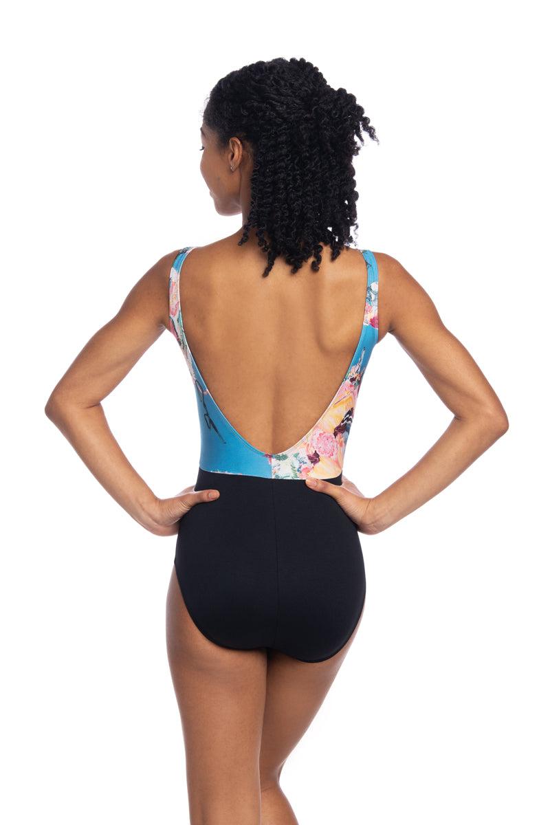 Sadie Leotard with Las Vidas Print (1110LV)