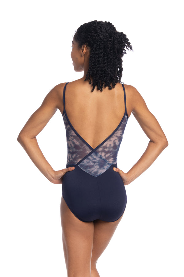 Allegra Leotard with Shibori Print (136SH)