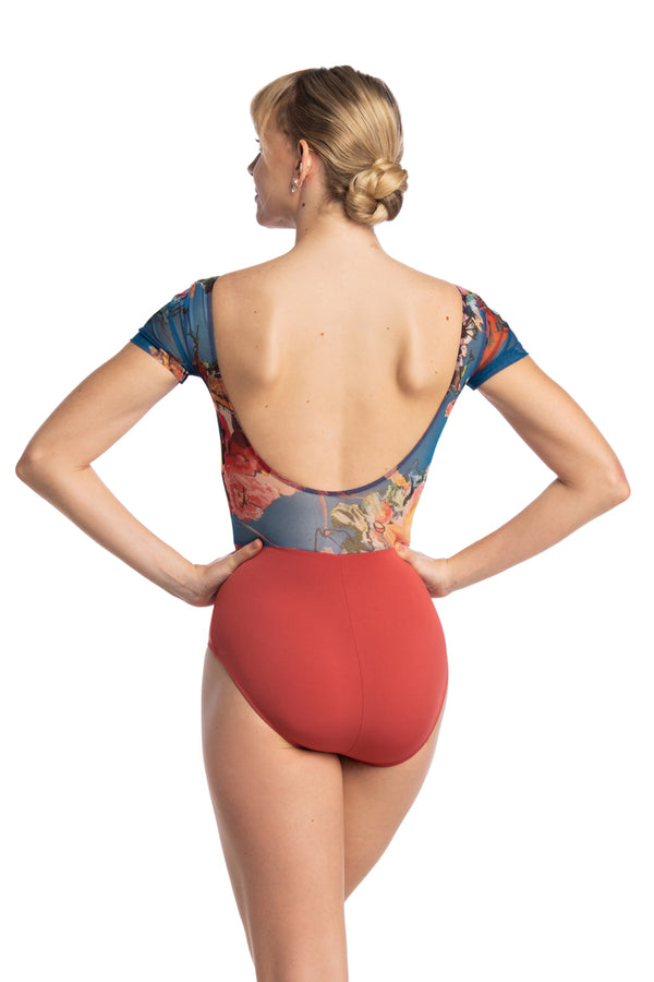 Bonnie Leotard with Las Vidas Print (1094LV)