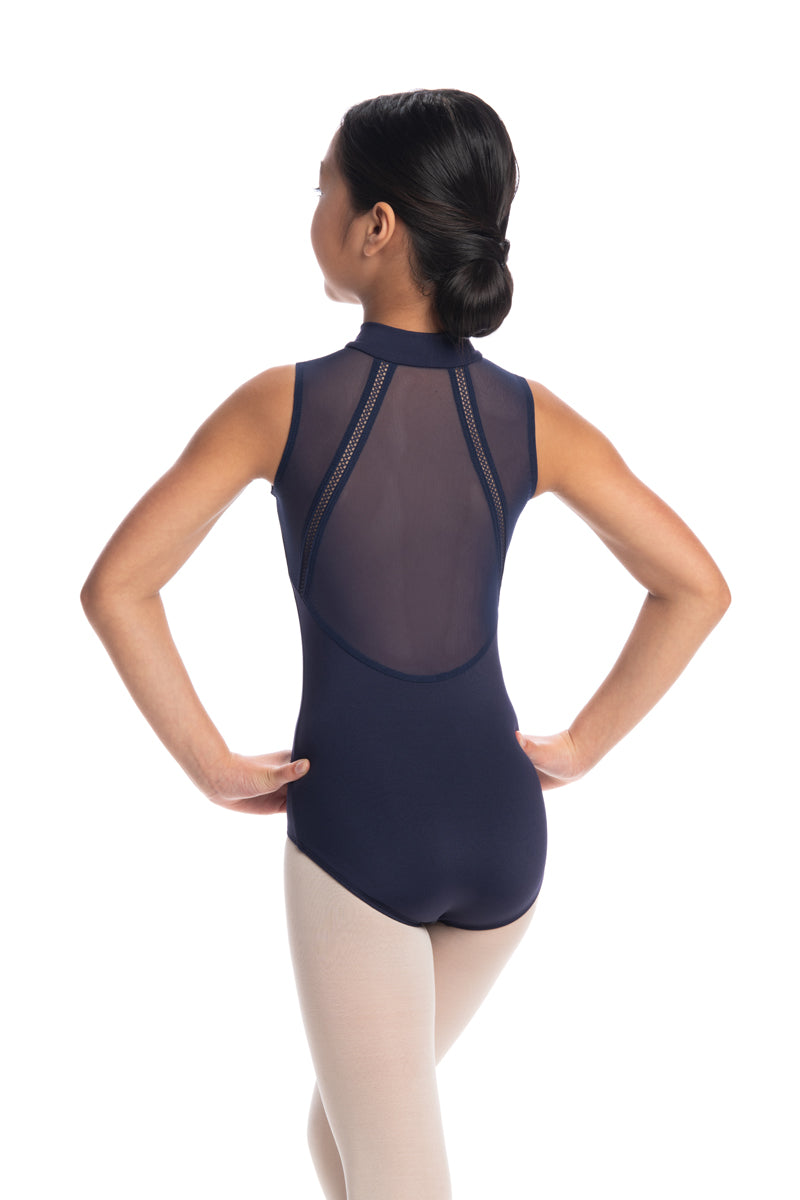 Girls Bryn Leotard with Mesh (1065ME G)