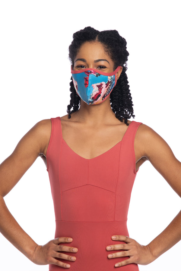 Face Mask in Las Vidas Print (999LV)