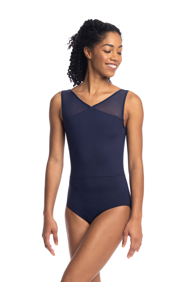 Lennon Leotard with Mesh (1100ME)