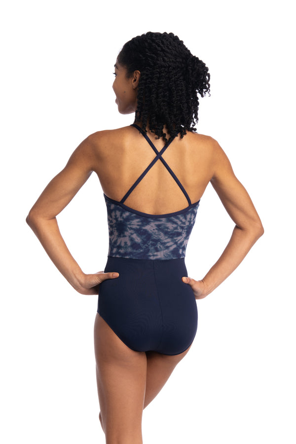 Mila Leotard with Shibori Print (170SH)