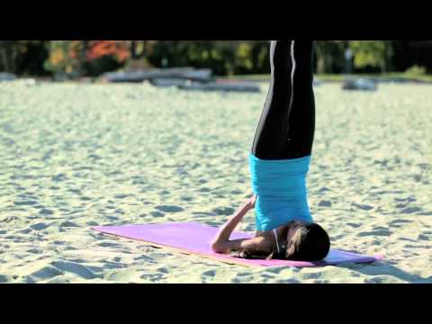 calming and healing benefits of supported shoulder stand