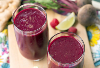 Rockin' Red Smoothie: Vegan & Anti-Inflammatory