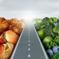Junk food_healthy food_road_pic