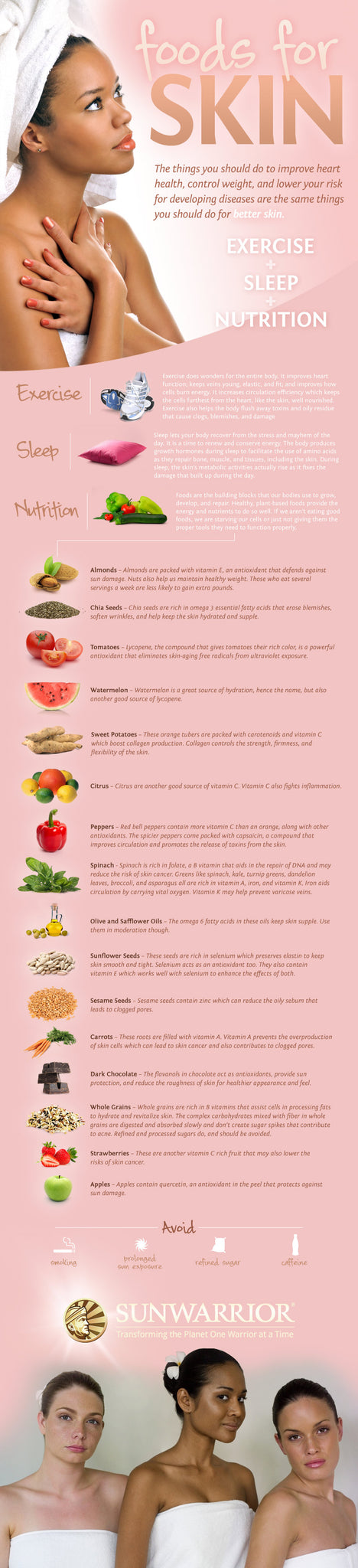 18 of the Best Foods for Glowing, Vibrant, Younger Skin