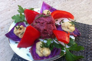 beet_hummus_bell_pepper_cabbage_red_rosemary_pic