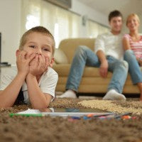 boy_family_parents_carpet_ground_color_lay_house_home_clean_pic