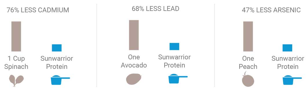Sunwarrior Protein Powder Comparisons