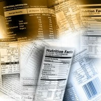 food label_ingredients_nutrition_facts_pic