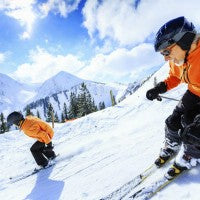 fun_fitness_exercise_men_orange_snow_ski_skiing_clear_day_beautiful_pic