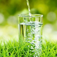 glass_water_pour_grass_nature_outside_pure_pic