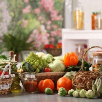 vegetables_fruit_oil_basket_healthy_spice_balanced_pic
