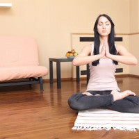woman_young_living_room_home_yoga_relax_pic