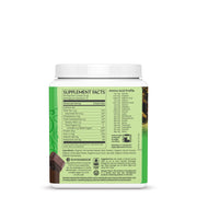 Sunwarrior Classic Protein - Chocolate Vegan Protein Powder Supplement Facts