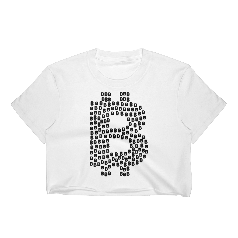 Bitcoin Women's Crop Top