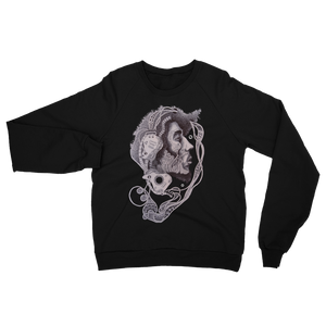 Bob Marley Fleece Raglan Sweatshirt