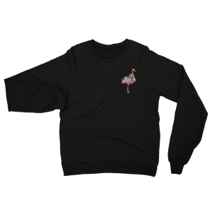 Unisex California Flamingo Raglan Sweatshirt