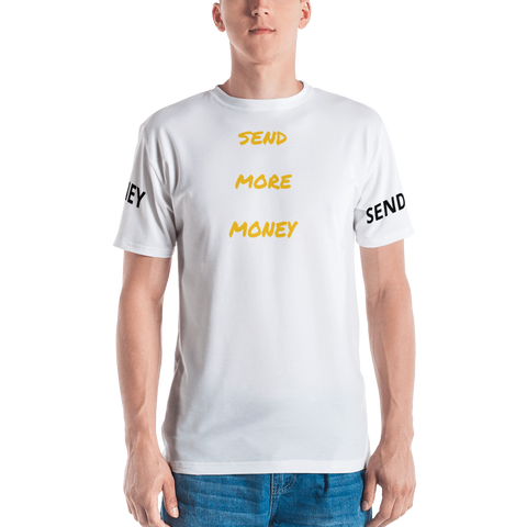 SEND MORE MONEY T-shirt