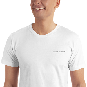 Wakethedistrict Embroidered T-Shirt