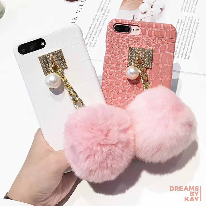 detailed look faf21 26be1 Fluffy Ball Lux Phone Case