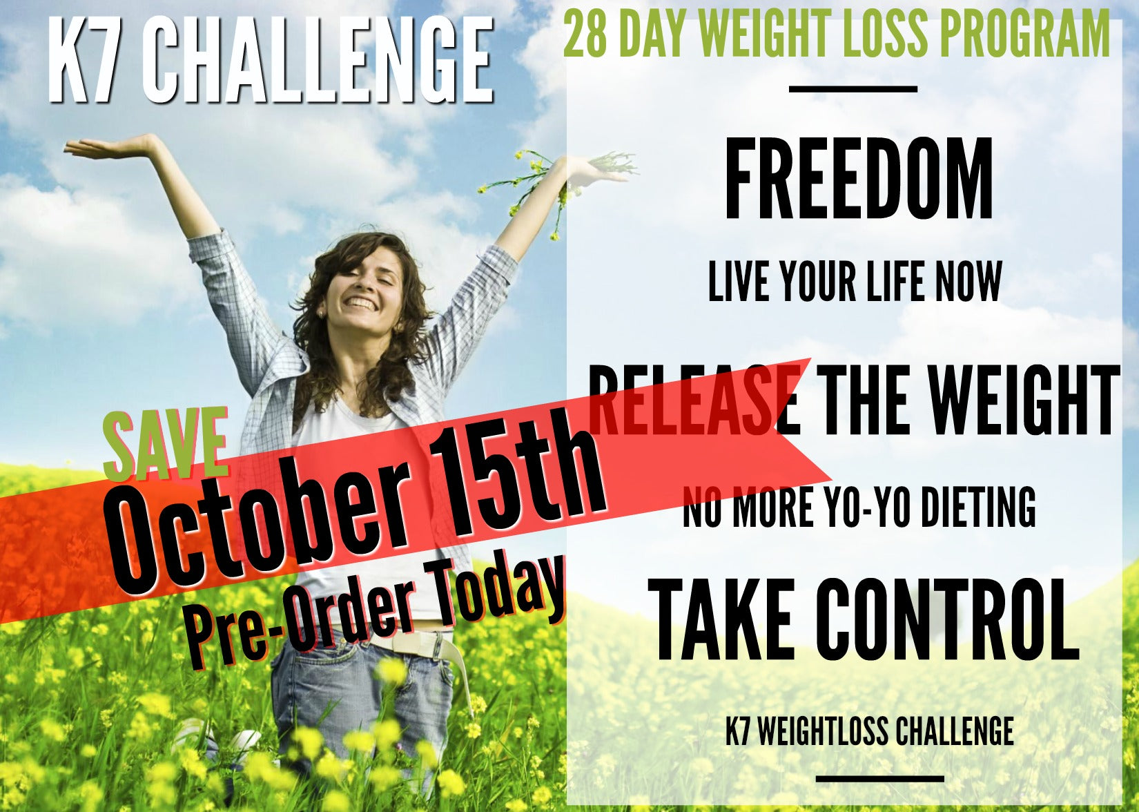 K7 Challenge 28 Day Weight Loss Program On Pointe Fitness
