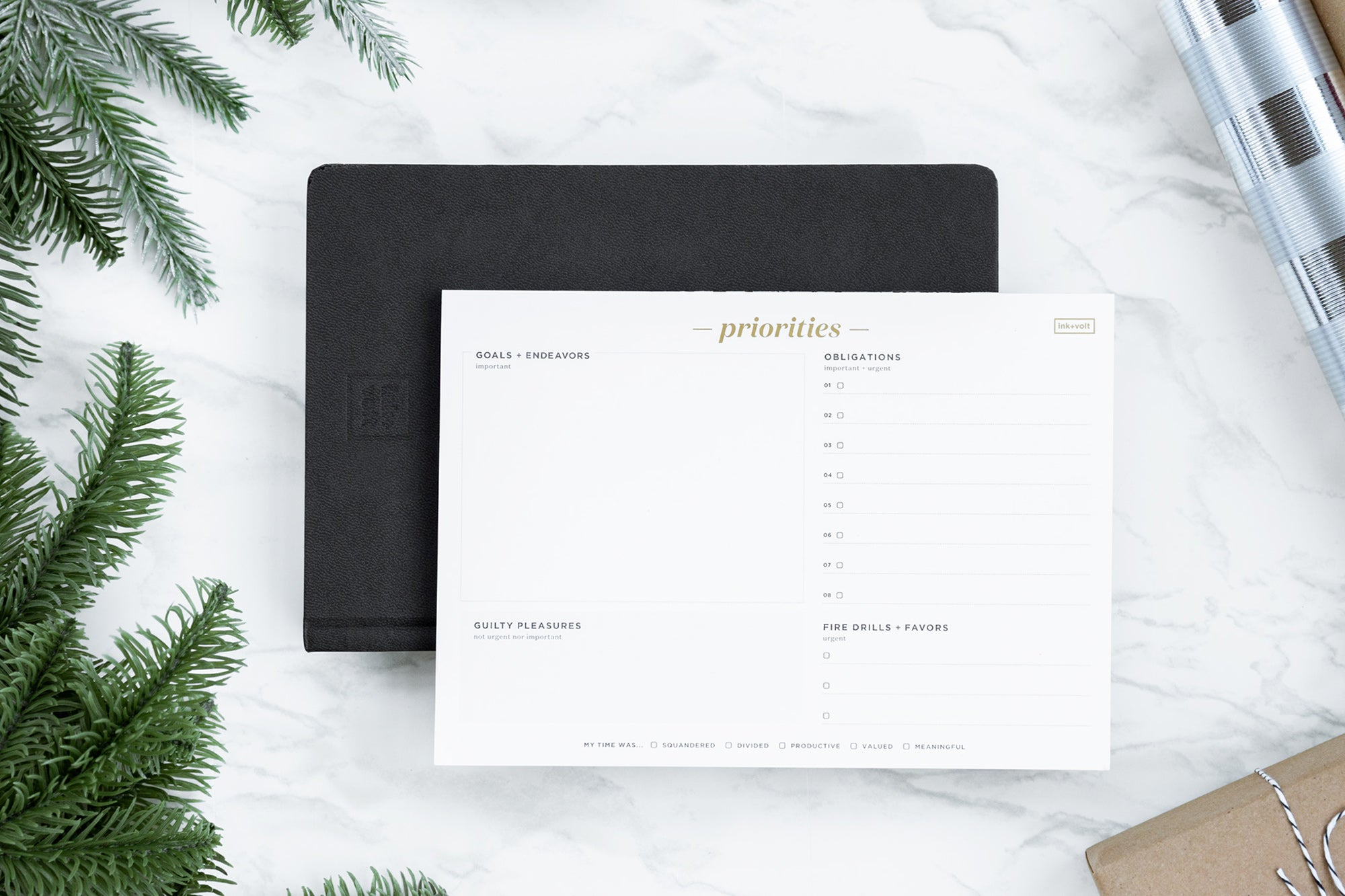 bundle planner and Priority pad