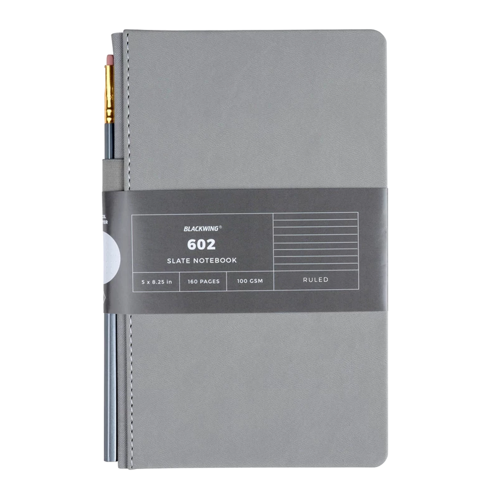 602 Slate Notebook Lined