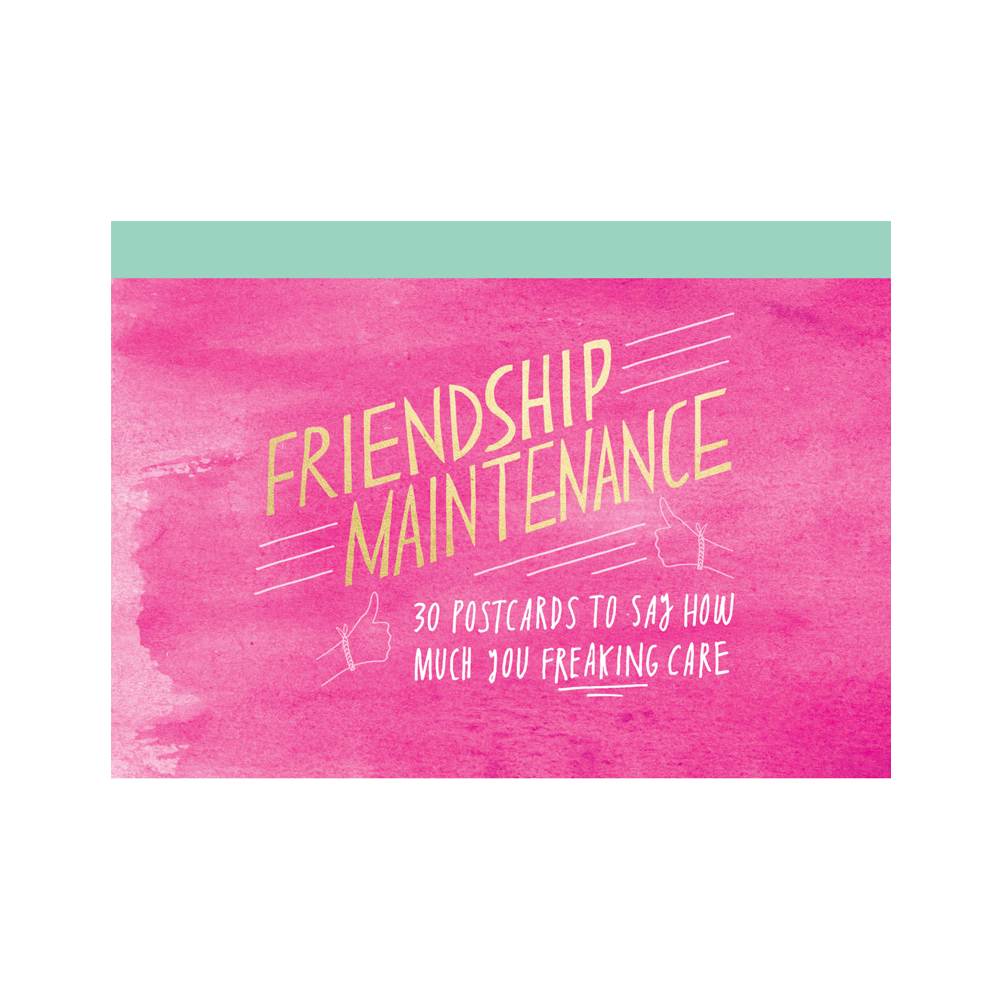 Friendship Maintenance Postcards