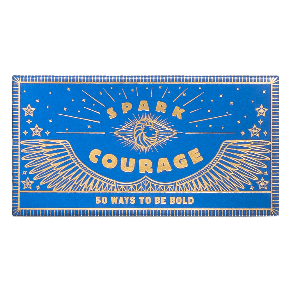 Spark Courage: 50 Ways to Be Bold box