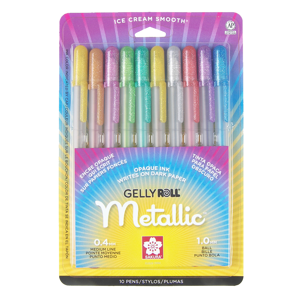 Gelly Roll Metallic 10-Pack