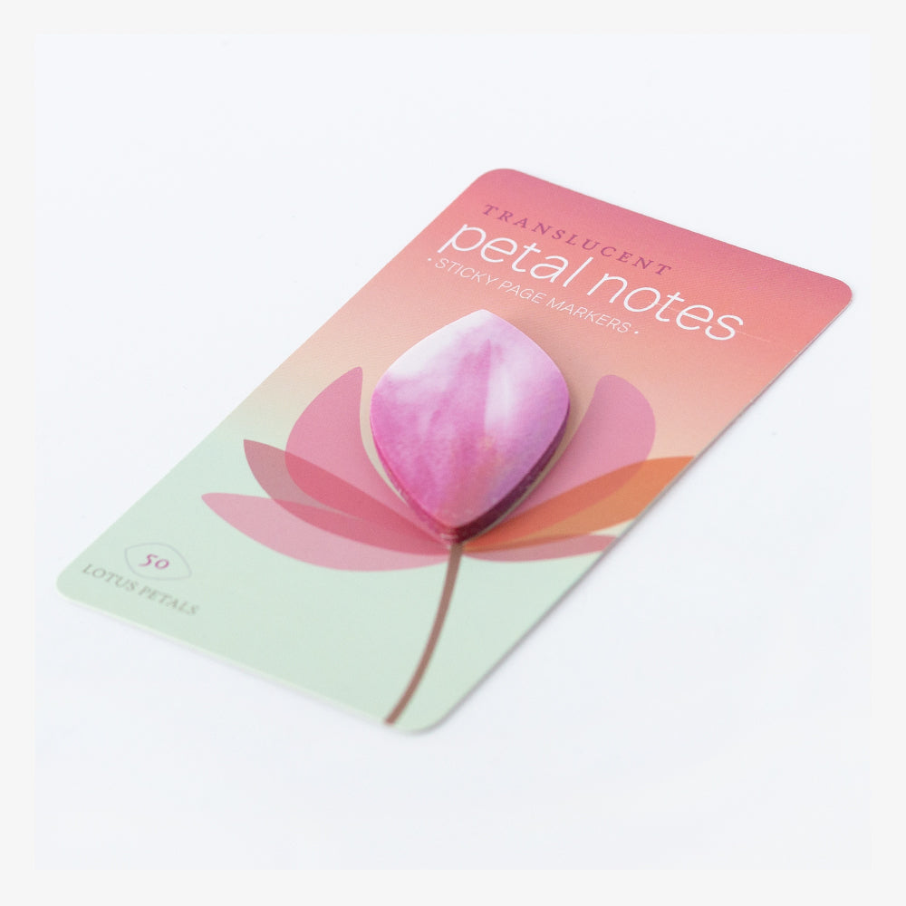 Lotus Petal Sticky Notes