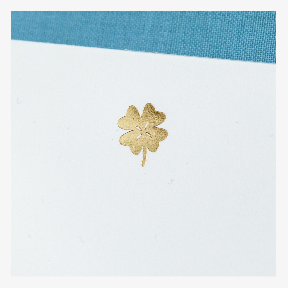 Lucky Clover Notepad detail