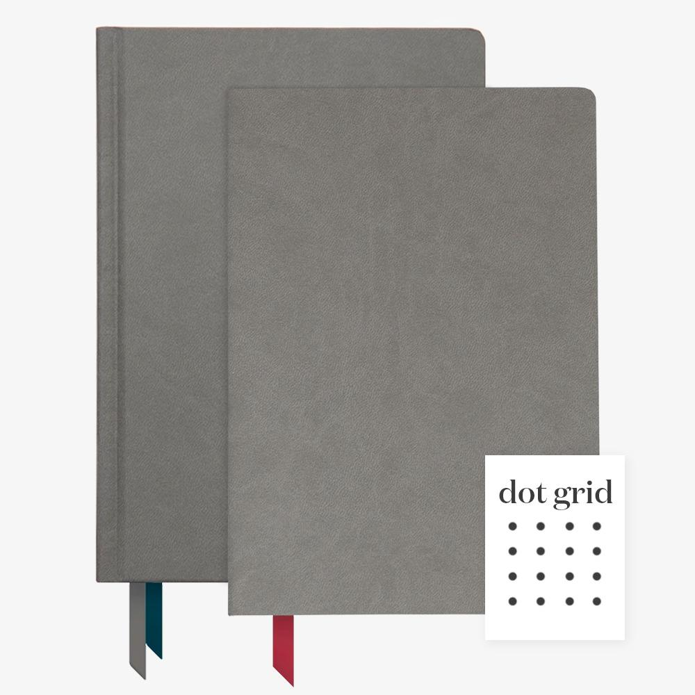 Ink+Volt 2020 Char Planner & Charcoal Softcover Notebook lined