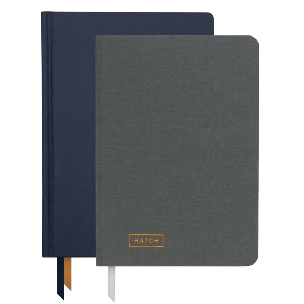 Ink+Volt 2020 navy Planner & Hatch Notebook Bundle