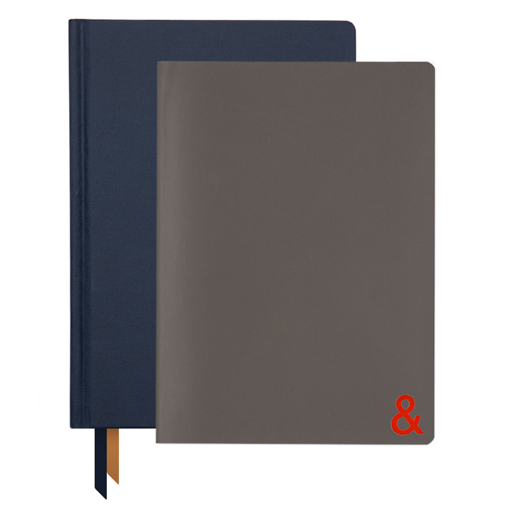 Ink+Volt 2020 navy Planner & Traveler Notebook Bundle