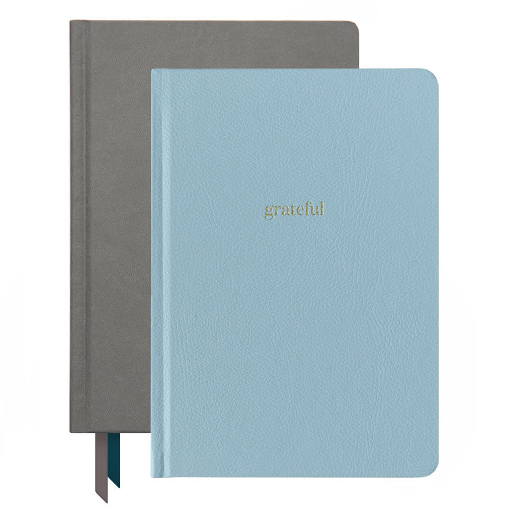 Ink+Volt 2020 charcoal Planner & Gratitude Journal Bundle
