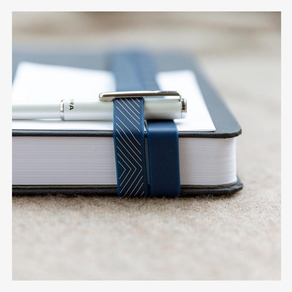 Ink+Volt Book Bands - Classic Navy