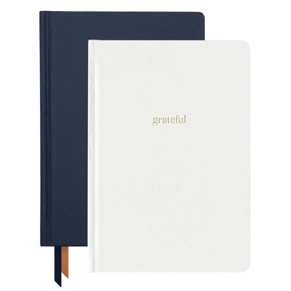 Ink+Volt 2020 Navy Planner & Ivory Gratitude Journal Bundle