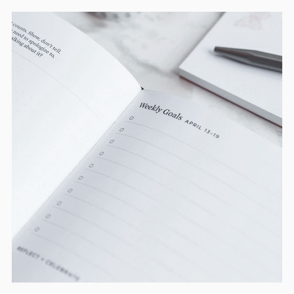 Ink+Volt 2020 Planner Signature Series Monthly Goals