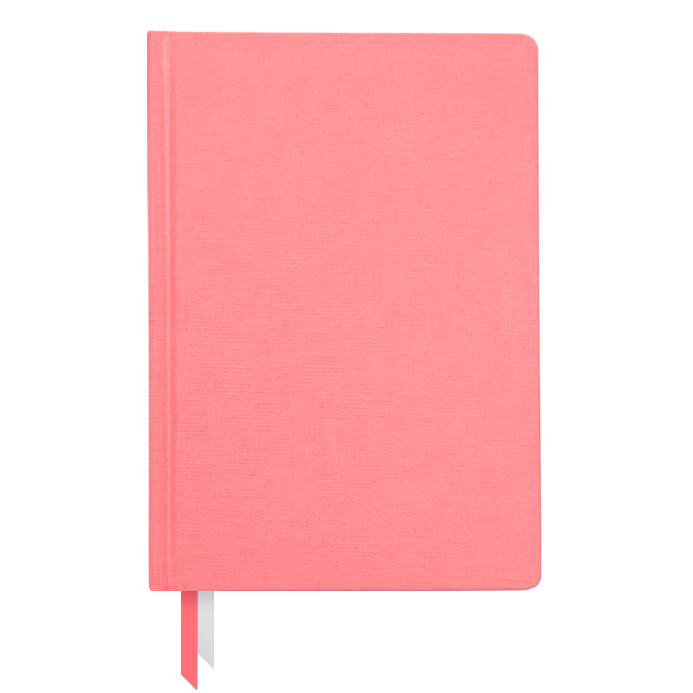 Ink and Volt 2019-2020 bookcloth cover planner flamingo