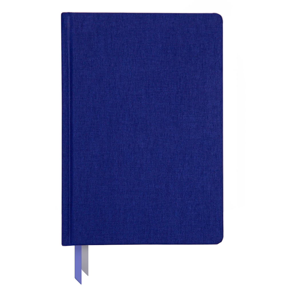 Ink and Volt 2019-2020 bookcloth cover planner indigo