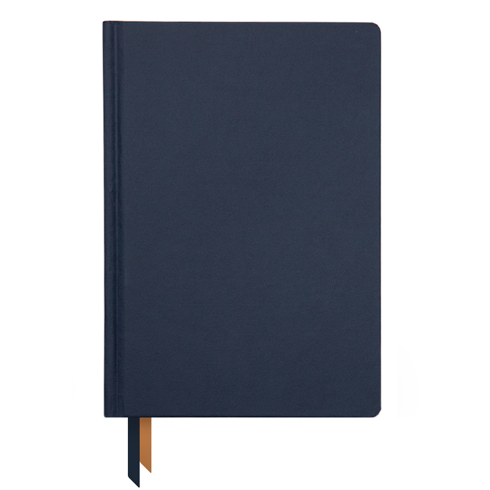 Ink+Volt Planner August-July Signature Soft Touch Cover navy