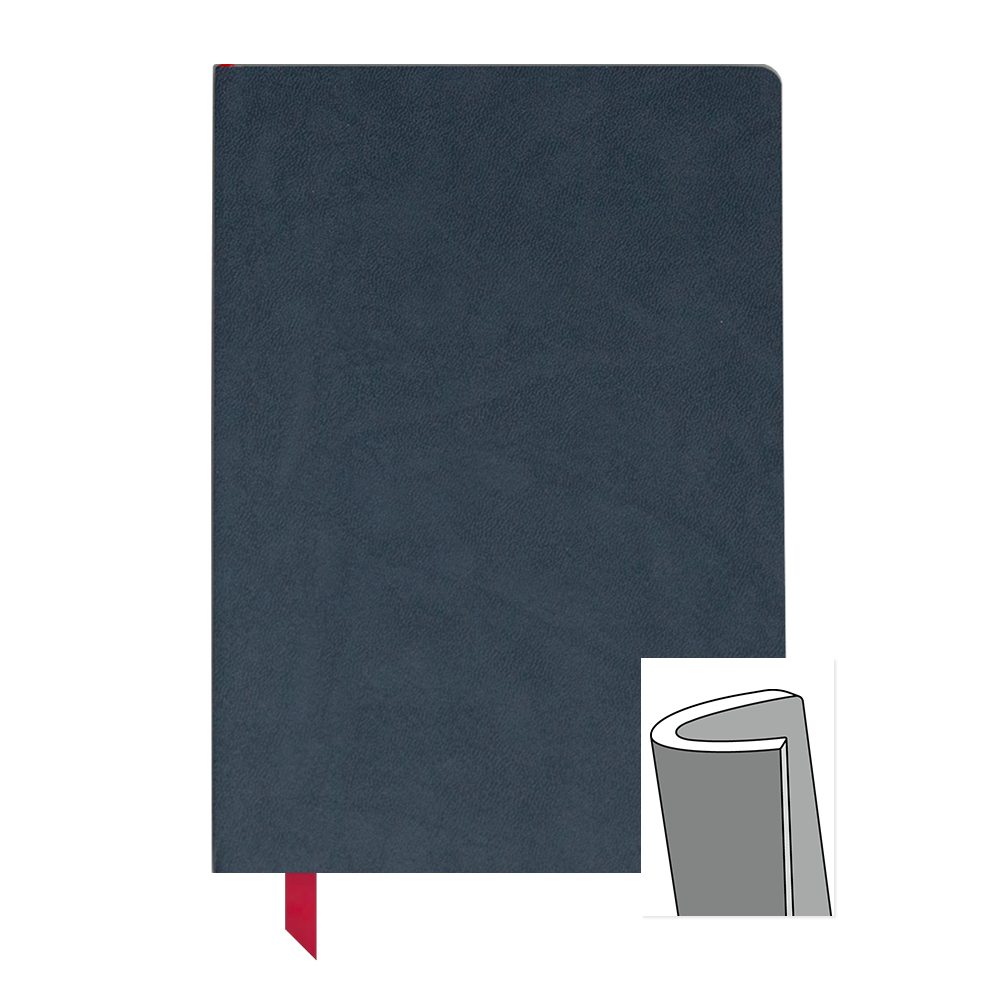 Ink+Volt Softcover Notebook navy