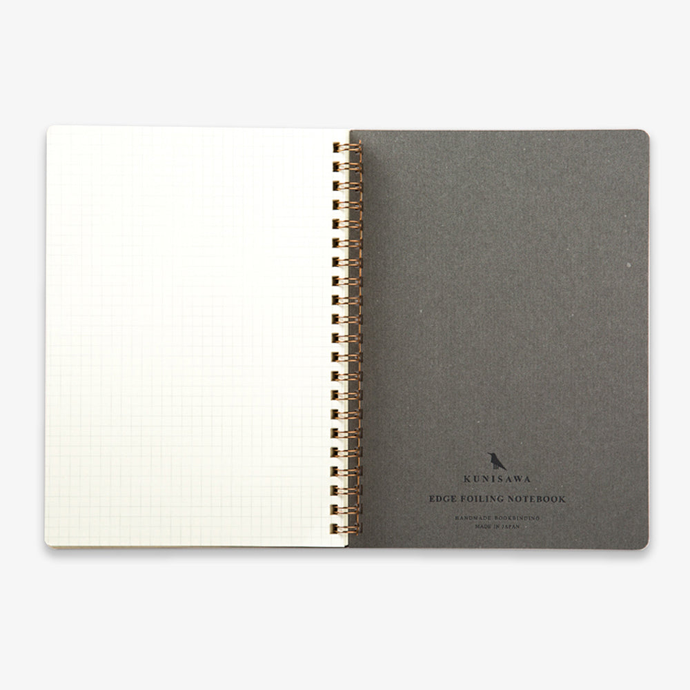 Kunisawa Find Ring Note Spiral Notebook last page