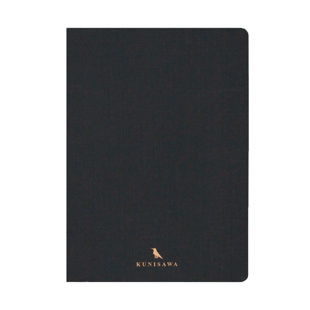 Kunisawa Find Note Hard Notebook dark grey